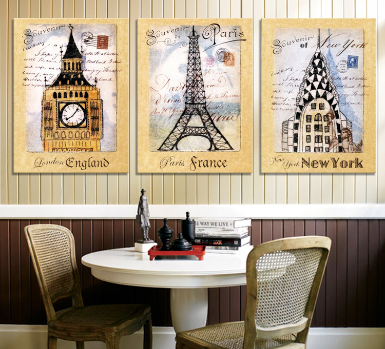 3pcs/set modern home decorations wall art canvas print paintings ...