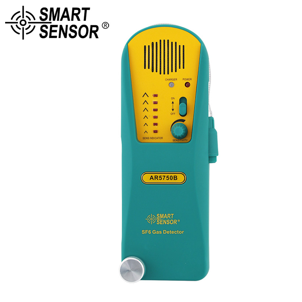SMART SENSOR SF6 Refrigerant Gas Leak Detector Digital Halogen Gas Detector Alarm Tester Freon Gas Analyzer