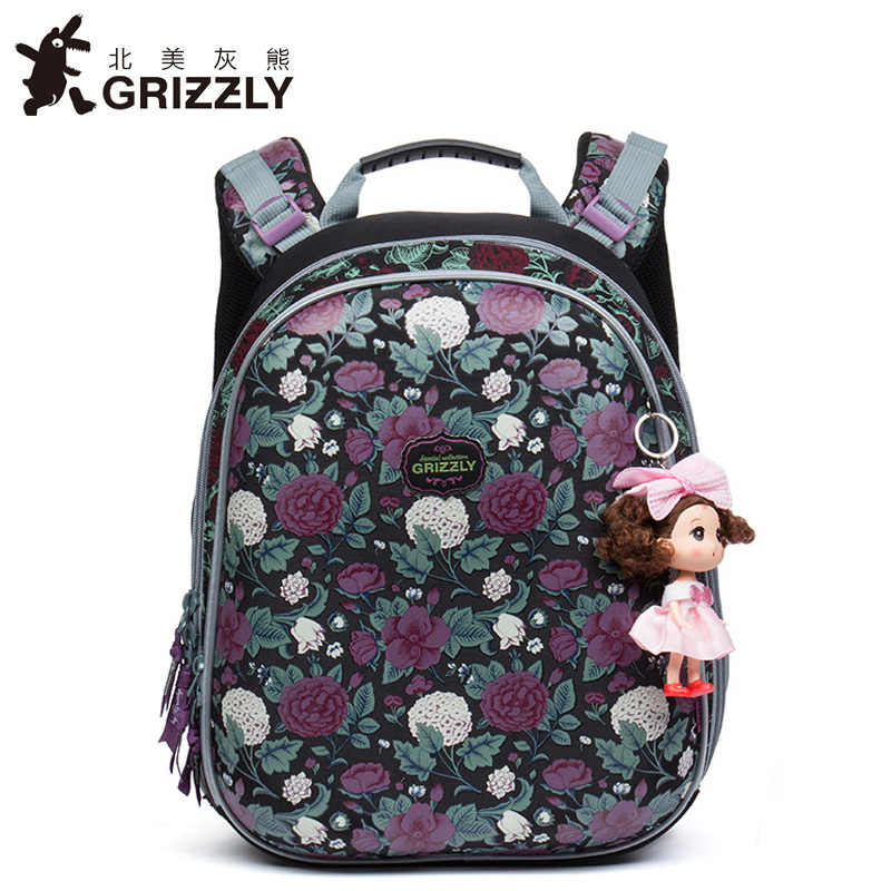 Children Bag Orthopedic backpack Children School Bags For Girls and boys  High quality 3D printing Book 7f8d42049f8be