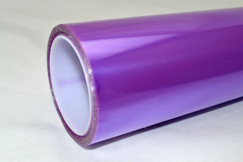 Image 3 - 0.3*10m Auto Headlight Tint Film Vinyl Fog Lamp Light Transparent Car Headlight Taillight Tint Vinyl Film Sticker Purple-in Car Stickers from Automobiles & Motorcycles