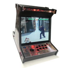 2100 in 1 VGA game board with 40 G HD, 22 inch LCD mini arcade game machine 22 inch lcd desk arcade game machine with 645 in 1 game board 2 player stereo speakers amplifier horizontal display