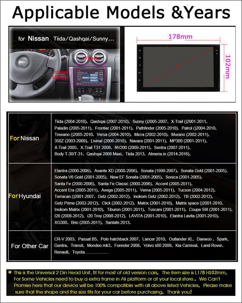 Nissan & Hyundai Stereo