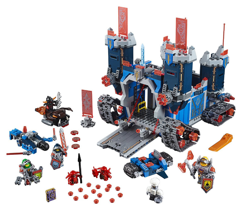 Lepin 14006 1115pcs Nexus Knights Clay Aaron Fox Fortrex Castle Building Block Compatible legoed 70317 lepin 22001 pirate ship imperial warships model building block briks toys gift 1717pcs compatible legoed 10210