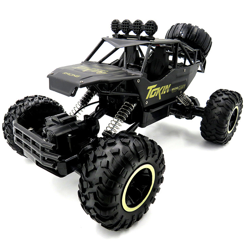 1:12 4WD Cars 37cm Alloy 2.4GHZ Radio Control RC Trucks Super Power High Speed Black Trucks Off-Road Trucks Toys for Children купить в Москве 2019