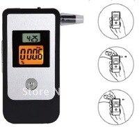 4 Digitals Lcd Display Breathalyzer Breath Pipe