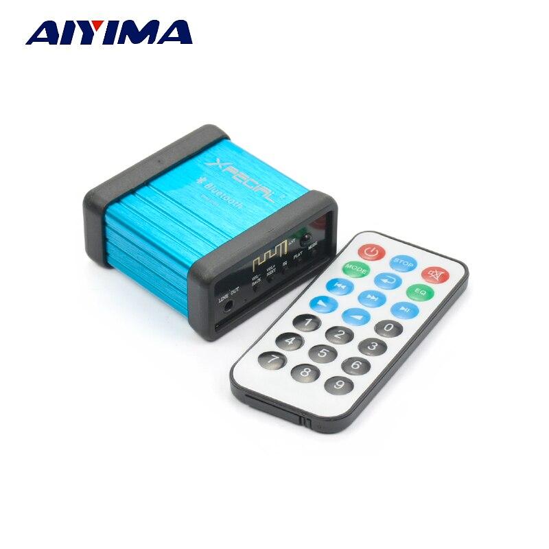 Aiyima Drahtlose Bluetooth Audio Receiver Decoder Auto Vorverstärker Stereo Lautsprecher Verstärker Mit Fernbedienung Offensichtlicher Effekt Verstärker