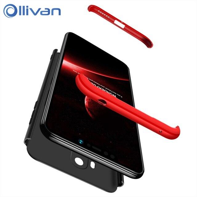 save off 72a4f 0ab69 US $1.98 40% OFF|360 Full Protection Hard Case For XiaoMi Mi PocoPhone F1  Cover 3 in 1 Armor Slim Case For XiaoMi RedMi 6A 5 Plus 5 6 Pro Coque-in ...