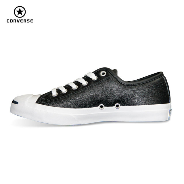 8e26d3038943 Converse new JACK PURCELL sneakers shoes man and women Unisex PU Leather  black white color Skateboarding Shoes 101503 101509