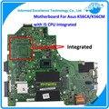 K56CM K56CA Материнской Платы Ноутбука для Asus i5 CPU Rev2.0 GM Интегрирована Mainboard Испытаны Задолго до Судоходства