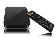 S905 GOTiT S905 4 К Android TV box Amlogic Quad Core Android5.1 DDR3 1 Г 8 Г WI-FI 1080 P Kodi16.0 Полной массой дополнений Smart TV коробка
