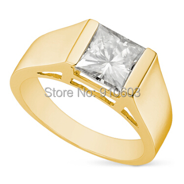 Classic 2 1 Carat Princess Cut Brilliant Simulated Diamond