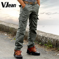 V JEAN Men's Practical Military Cargo Pants with Multi-Pockets  #9C301