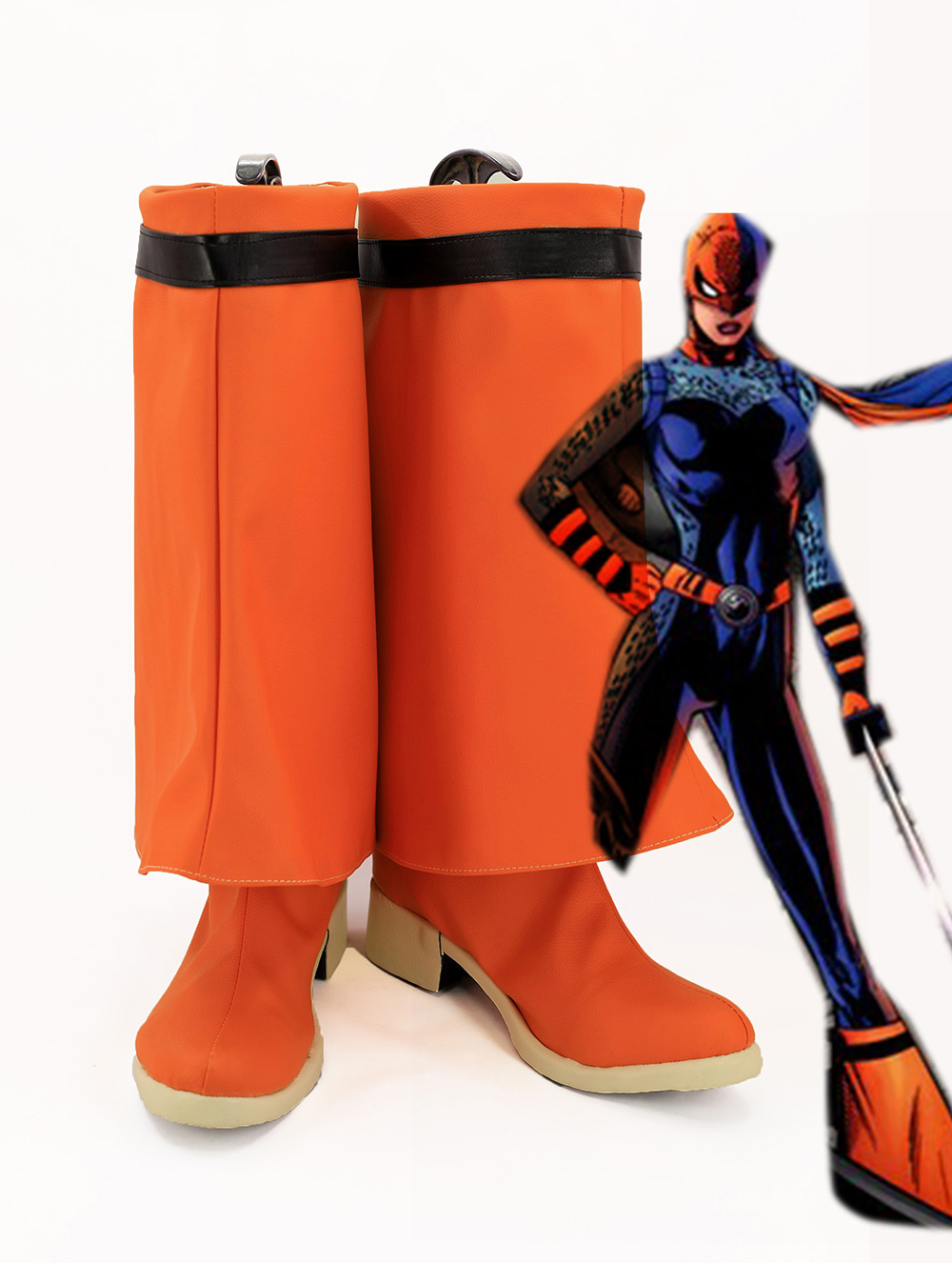 DC Super Hero Girls Ravager Cosplay Boots Shoes Custom Made
