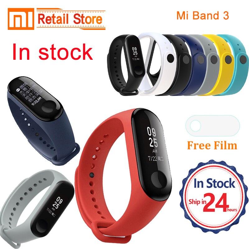 IN Magazzino Xiaomi mi Band 3 2 Braccialetto Intelligente Impulso di Frequenza Cardiaca Xiaomi Miband 3 2 xiaomi band 2 OLED Touchpad mi band 3 2 Wristband