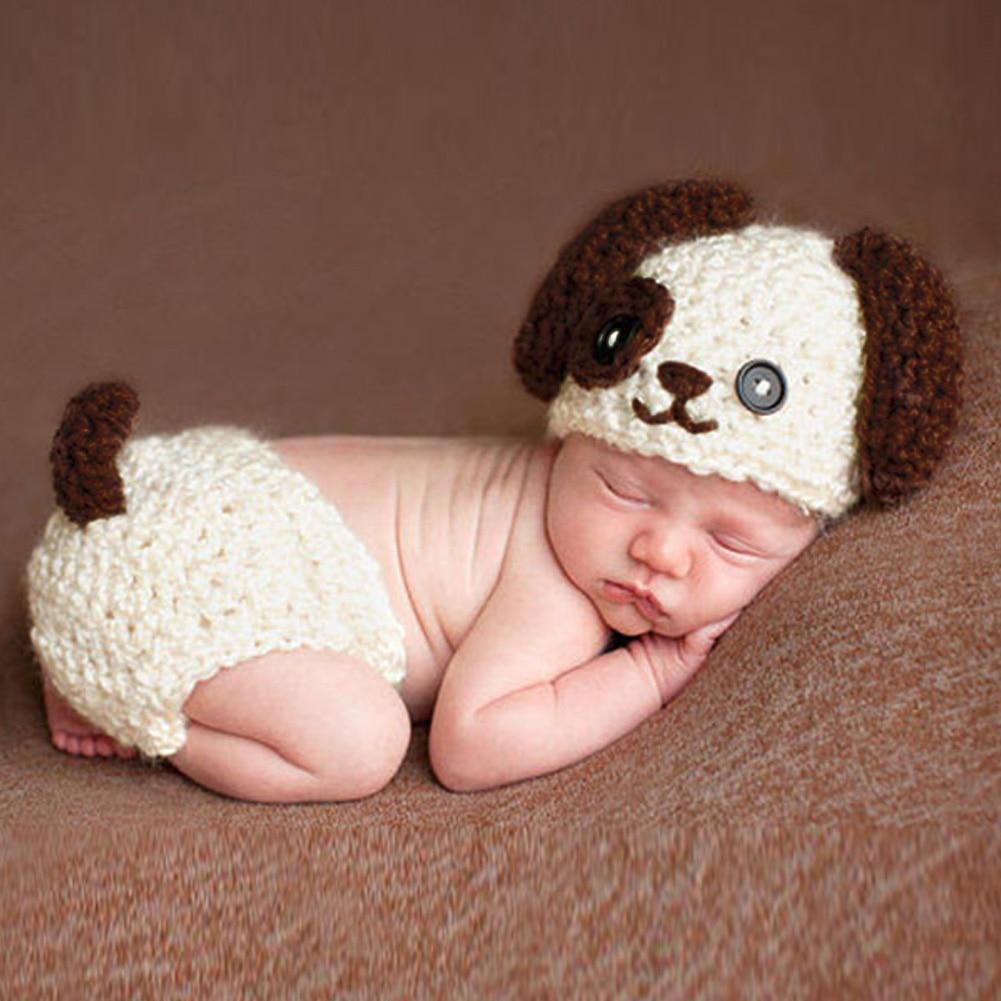 0-12 maanden Nieuwe Mode Zachte Handgemaakte Haak Katoen Pasgeboren - Babykleding