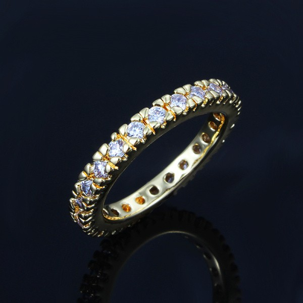 women trendy for rings geometric wholesale p wedding gold plated ring