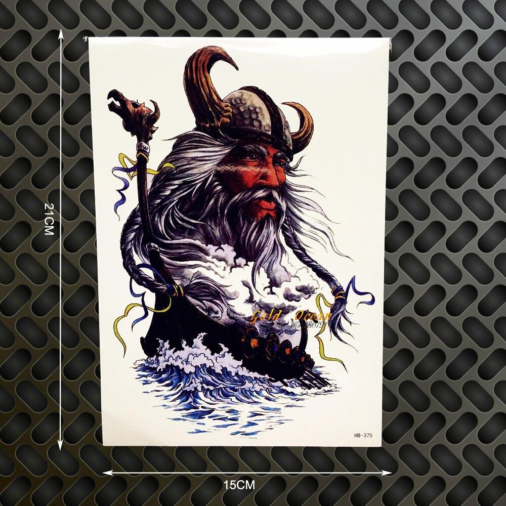 Gandalf Designs Fake Waterproof Tattoo Body Art Arm Sleeve Tattoo