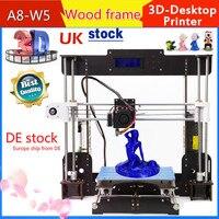 A8 3D принтер MK8 экструдеры Обновлен высокая точность для начинающих PLA/ABS для студентов