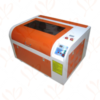 60W CO2 Laser engraving machine Mini Laser Cutting Machine with Rotary Axis and 600*400mm Working area