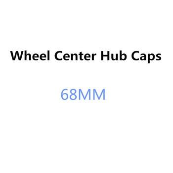 цена на 4PCS 68MM Car Wheel Center Hub Caps Rim Cap Covers For BMW X1 X3 E34 F10 F20 E92 E46 E39 E30 E90 E60 E36 F30 E87 E91 X5 E70 E53