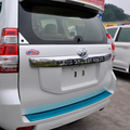 2014 Del Coche Del Cromo Cubierta Posterior Del Tronco Para Toyota Land Cruiser Prado FJ 150 Accesorios