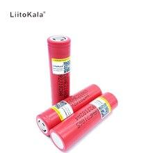 Liitokala para LG Eletrônico de Descarga 3 PCS HE2 18650 2500 MAH Bateria de Lítio-ion Recarregável 3.7 V Cigarro 30A