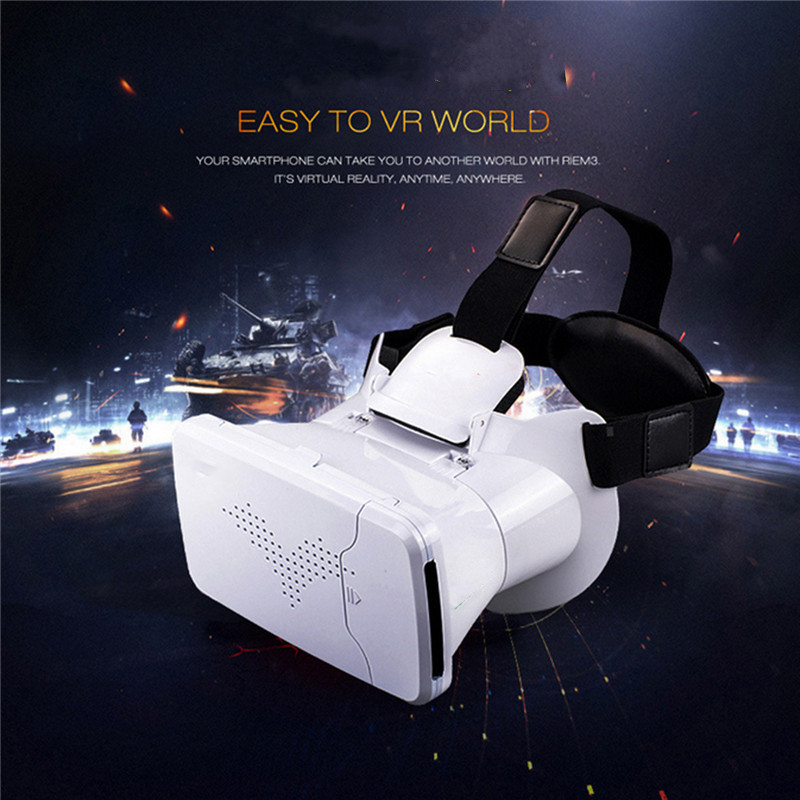 New Arrived Virtual Reality font b VR b font Box 3 5 6 Inches Phone 3D