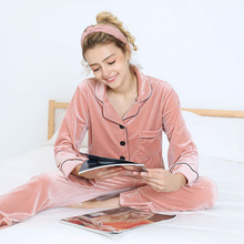 Tony&Candice Women Pajamas 100% Cotton W Girls Flannel Pajama Set  Ladies Nightgown Long Sleeve Soft Sleepwear Pyjamas