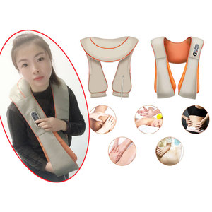 Image 2 - Shawl Relax Massage Relaxation For Electric Back Massager Neck Shoulder Body Health Care Beat Heating