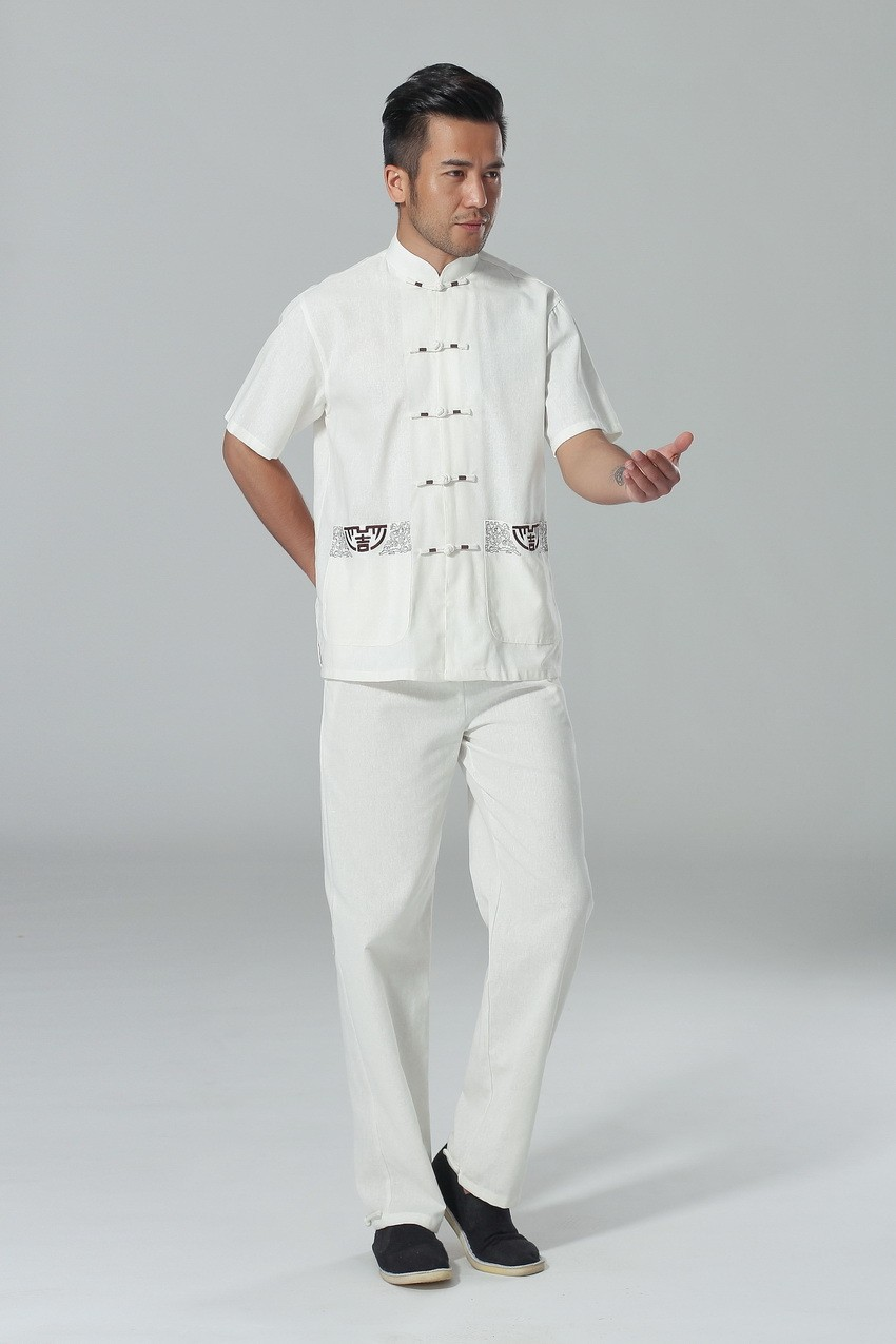 Mens White Linen Pants And Shirts