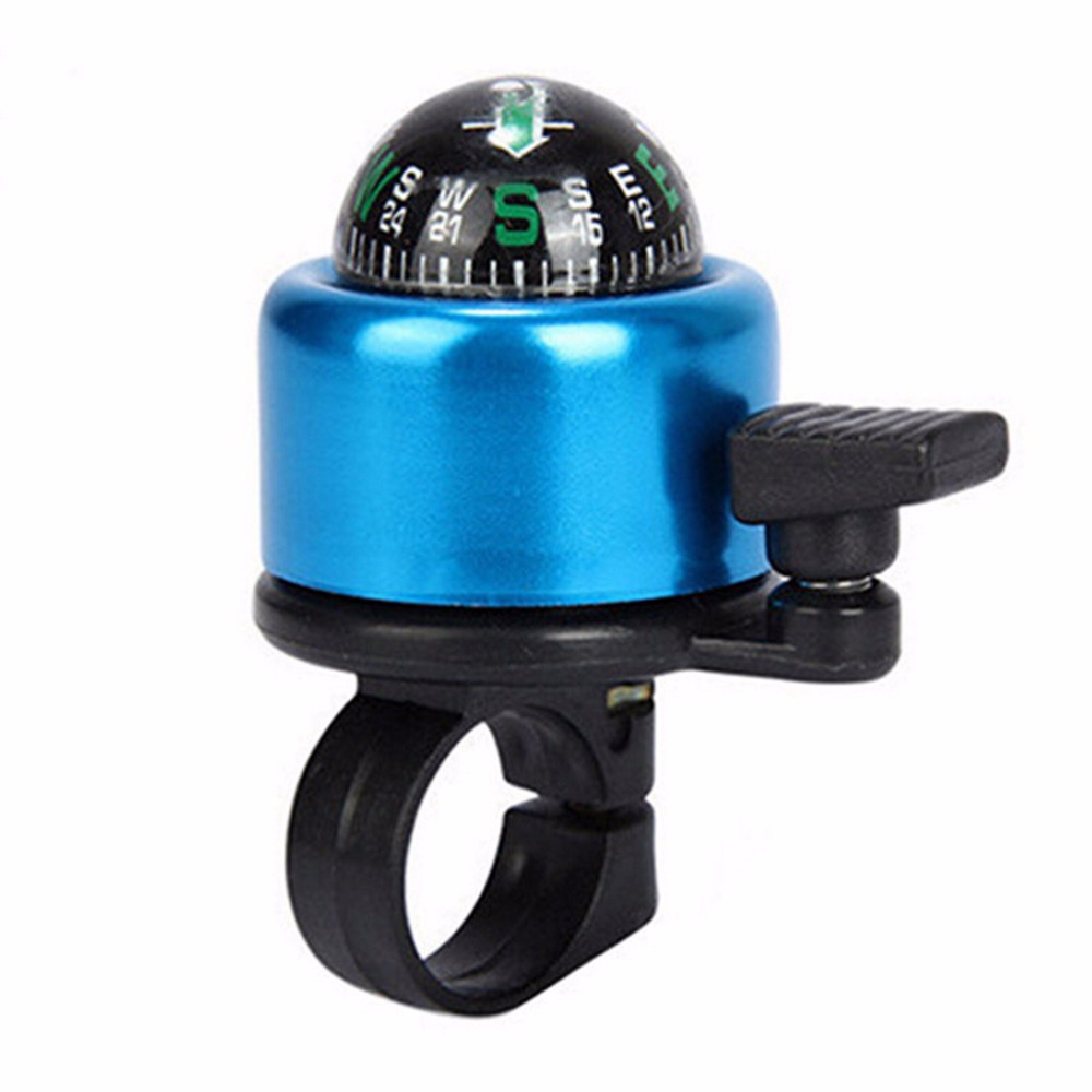 New Aluminum Alloy Bicycle Bell Road Mountain Bike Compass Bell Sound High Quality Bike Handlebar Ring Horn 6 Color