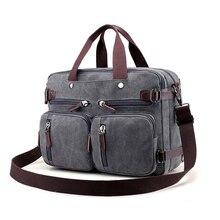 Canvas Multifunction Variable Men Travel Bags Weekend Large Capacity Travelling Shoulder Bag T665