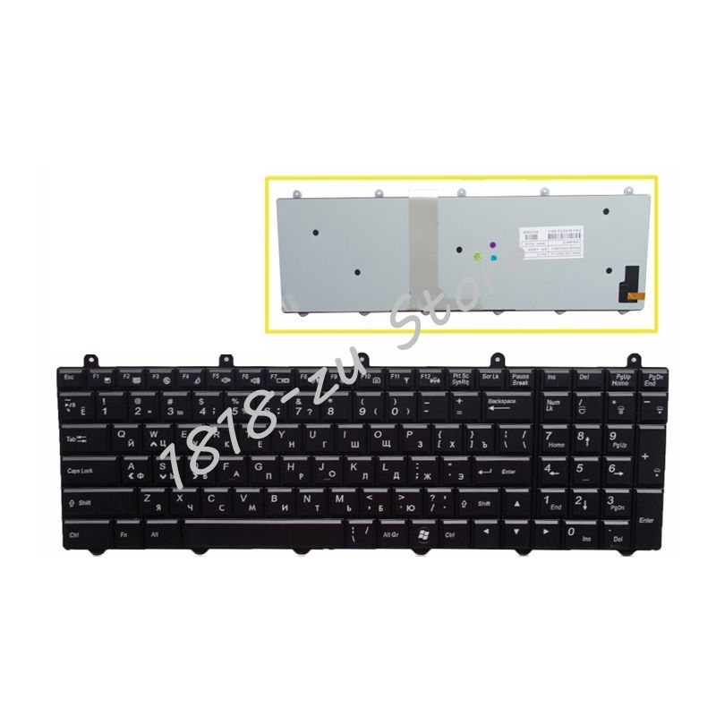 YALUZU russian Laptop keyboard For MSI GE60 GE70 GX60 GX70 GT60 GT70 GT780 GT783 MS-1762 For Clevo P150EM P170EM P370EM P570WM laptop keyboard for msi ms 16ga ge640 ms 16g5 ge620 ms 1756 ge70 ms 16ga ge60 black us english