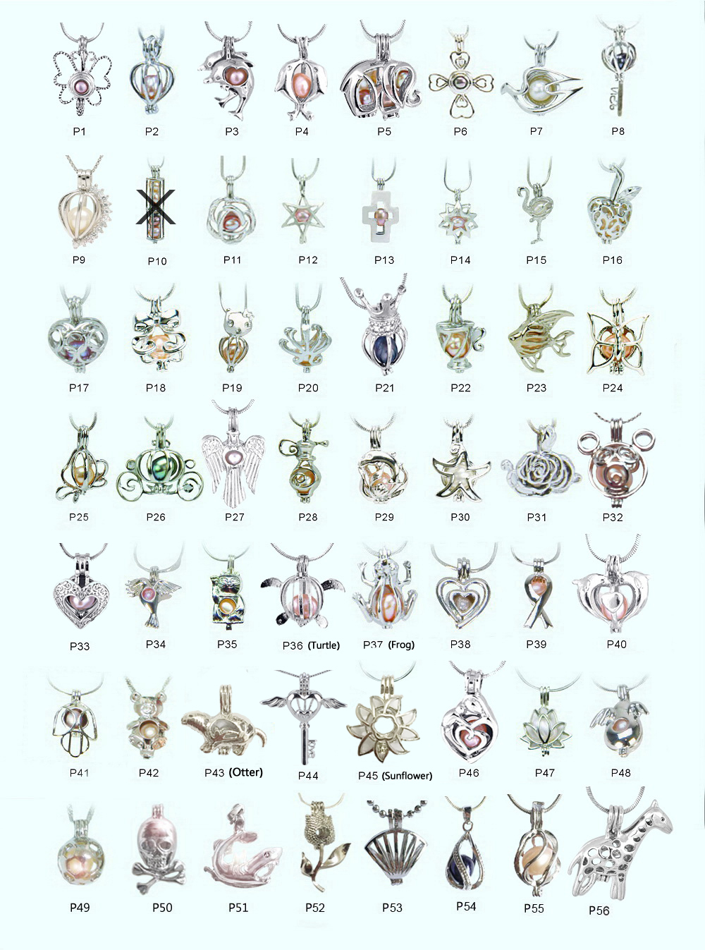 Aliexpress.com : Buy 18kgp pearl cage pendants, fashion