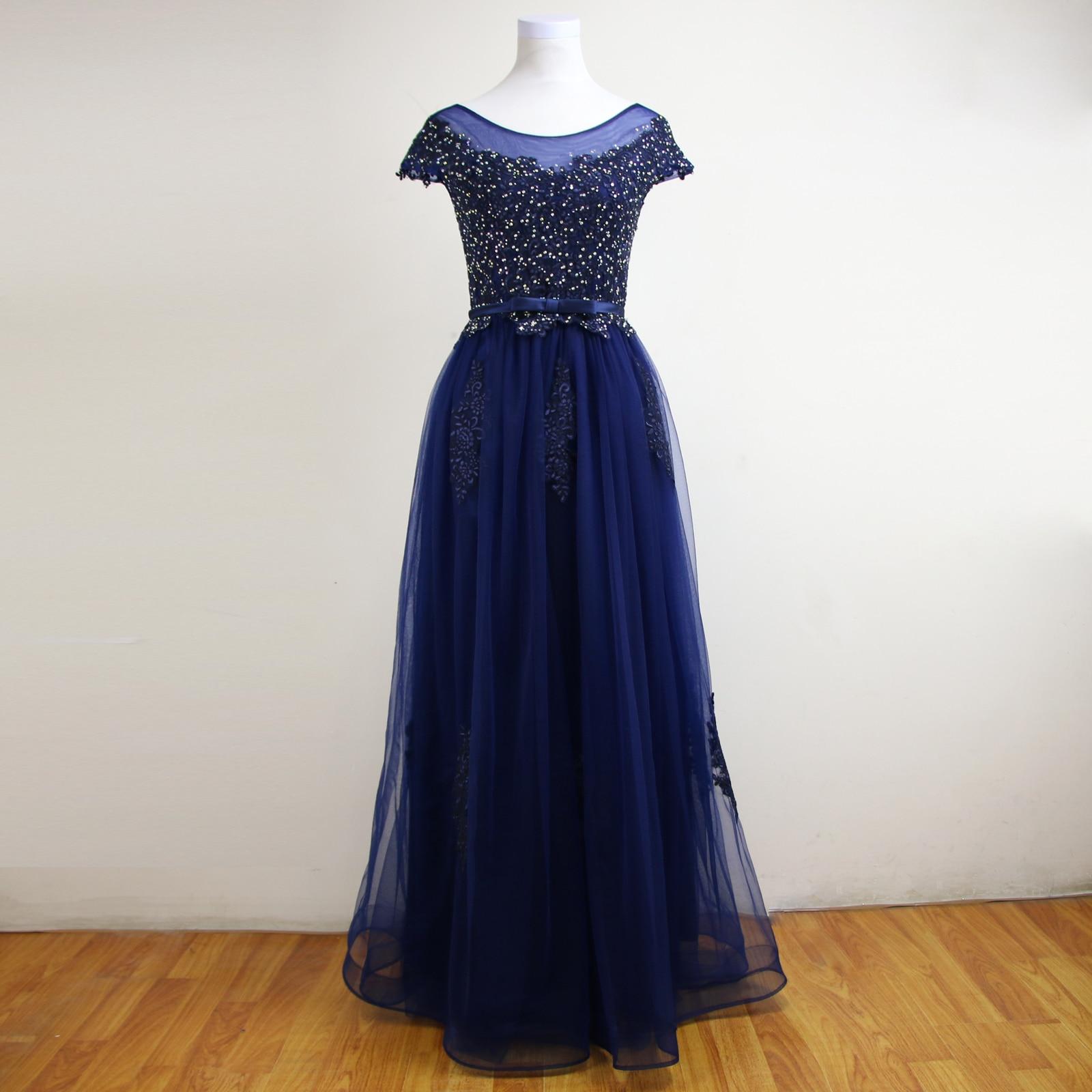 Online Get Cheap Evening Gown Blue Dress Pink Flowers -Aliexpress ...