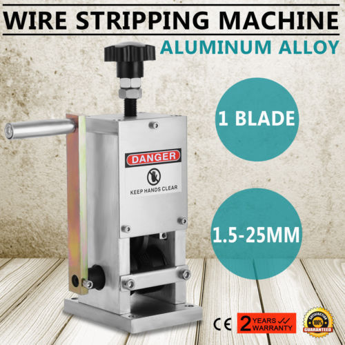 Wire Scrap Stripping Hand Tool Cable Stripper Machine Copper Recycle 1.5-25mmWire Scrap Stripping Hand Tool Cable Stripper Machine Copper Recycle 1.5-25mm
