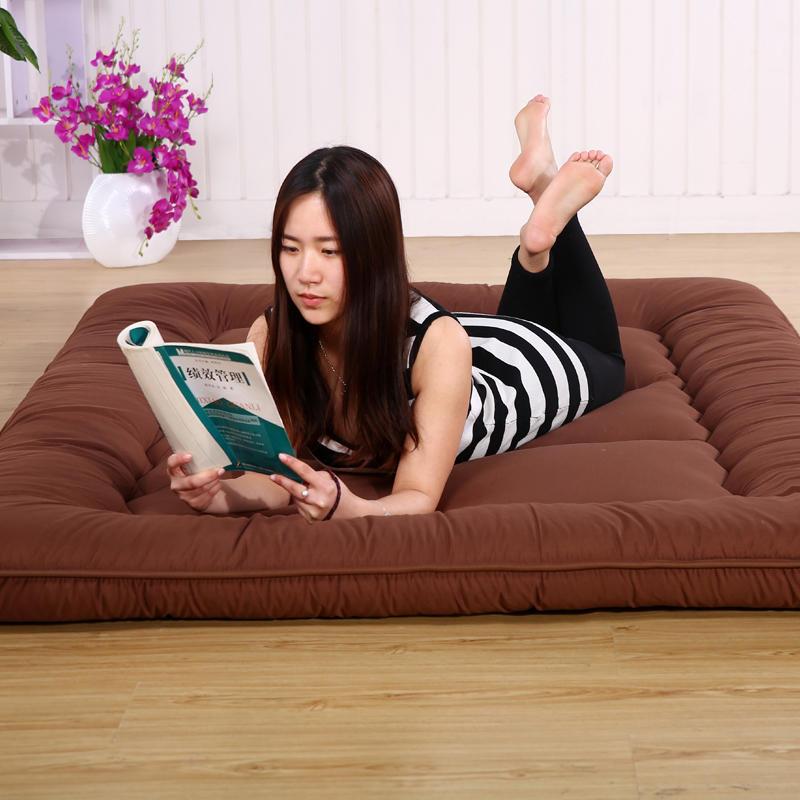 Vescovo Queen Mattress Thickened Bed Mat Carpet Economy 1.8M Doubt Folding Mats Lazy Cushile Floor Sleeping Maon Sheet