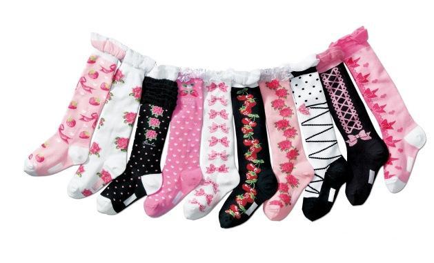 10 различных цветов размер 15-19 красивые девушки чулки чулок чулок младенец дети ребенок девочка подарок
