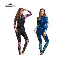 919c2486c SBART 2019 Female Print Full Body Rash Guard Women Surfing Snorkeling  Jellyfish Clothes Quick Dry Sunscreen