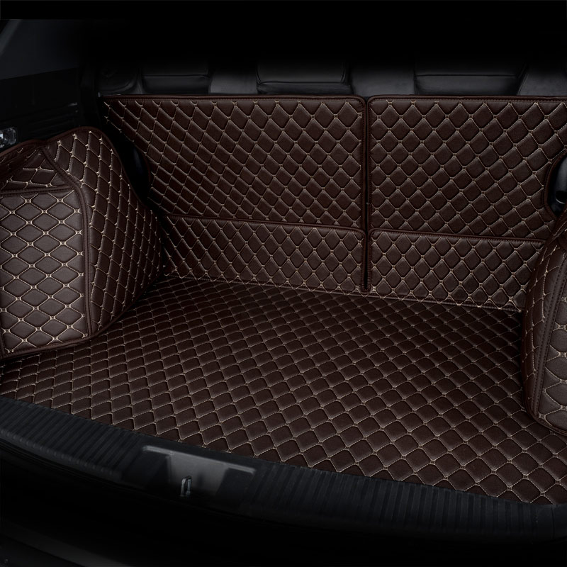 Tapis de coffre arrière pour voiture tapis de coffre pour hyundai ix25 ix35 santafe sonata, changan cs35 cs55 cs75 cs95 eado xt - 4