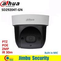 Dahua SD29204S GN 2MP 1080P Network Mini IR PTZ Dome IP Speed Dome 4x Optical Zoom