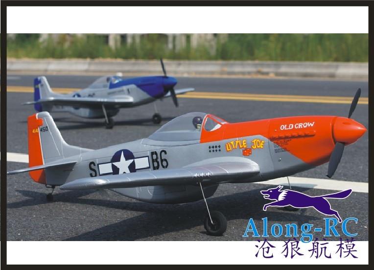 Avion EPO seconde guerre mondiale avion RC modèle RC jouet de passe-temps vente chaude P51 P-51 MUSTANG combattant (avoir kit ensemble ou PNP ensemble)