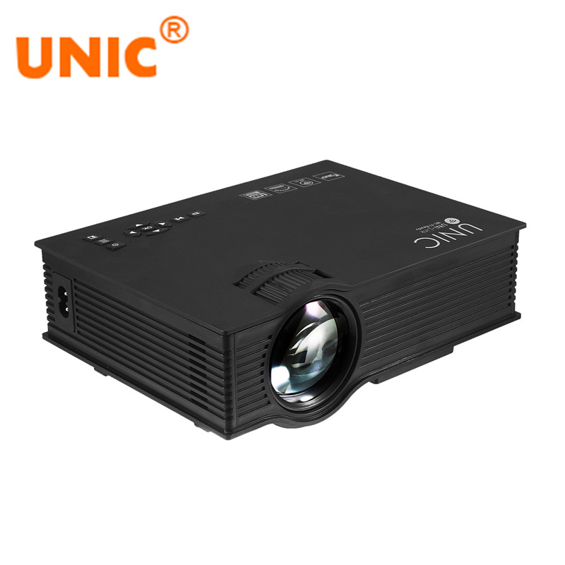 UNIC UC46 UC46 Projector Wireless WIFI 1200Lumens 800x480 LED Video Home Cinema Support Miracast DLNA Airplay