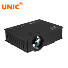 UNIC UC46 UC46 + Proyector Inalámbrico WIFI 1200 Lúmenes 800×480 LED Video Home Cinema Apoyo Miracast DLNA Airplay Proyector portátil