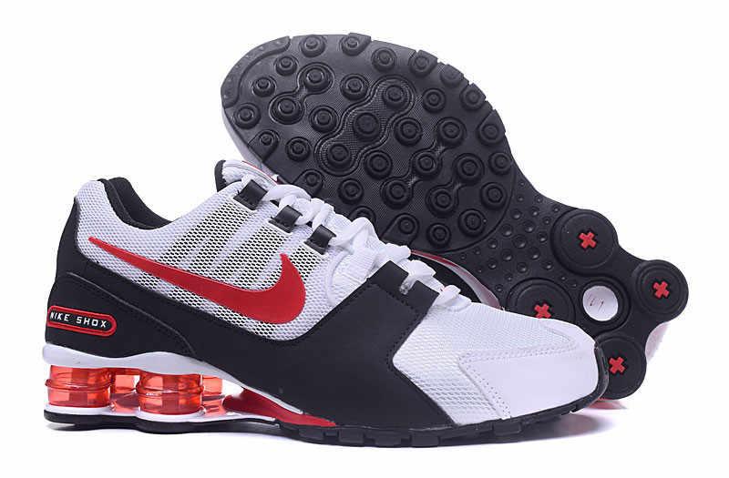 promo code 2130f 6750c ... Nike Shox Avenue Air Max Mesh Men s Cushioning Badminton Shoes,Male  Comfortable Outdoor Sports Breathable ...
