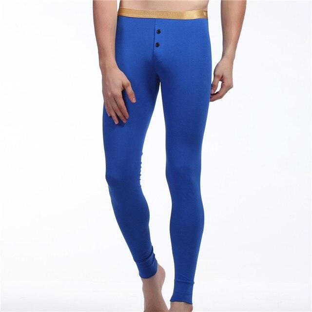 Новый Мужчины сна брюки Длинные пижамные штаны Мода сна Спящая брюк для мужчин