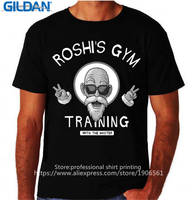 Casual Cotton Roshis Gymer Traininger Master O-Neck Men Short Sleeve Funny T Shirt