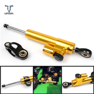 Image 3 - For Kawasaki Z900 Z650 Z 650 Z 900 Universal Motorcycle Accessories Stabilizer Damper Steering For Yamaha MT 07 MT07 2014 2017