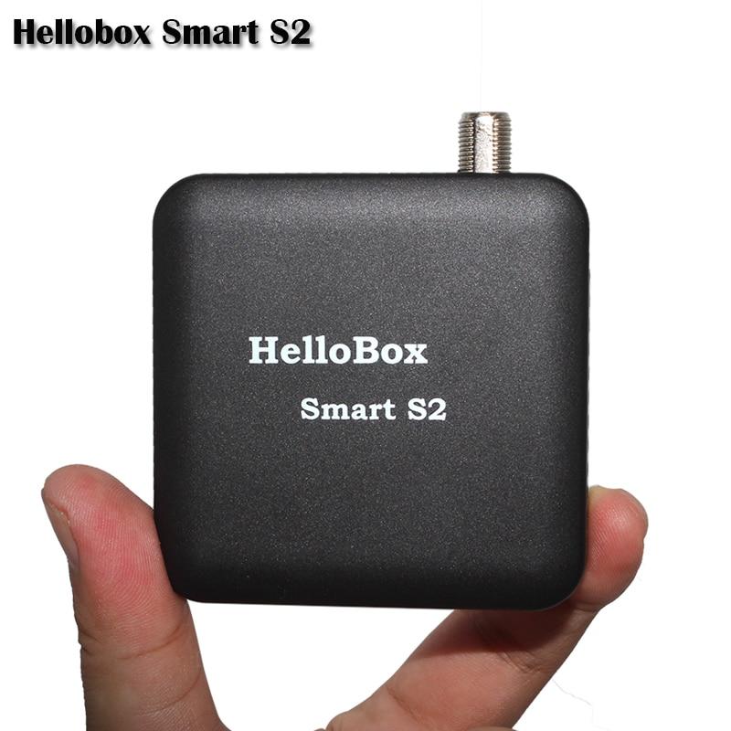 Hellobox Smart S2 Satellite Finder récepteur Satellite TV jouer sur téléphone Mobile/tablette TV récepteur DVBPlayer DVBFINDER IOS