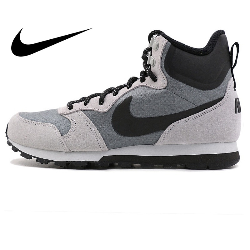 new product 8d753 e5f74 Detail Feedback Questions about Original NIKE MD RUNNER 2 MID PREM Men s  Running Shoes SneakersOutdoor Sports Designer Athletics Official High Top  844864 ...